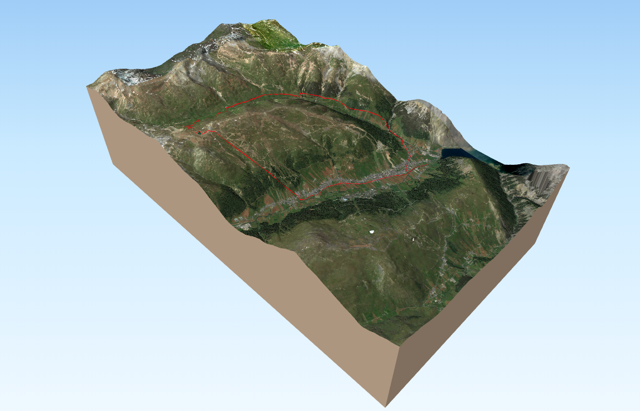 online 3d map rotate zoom