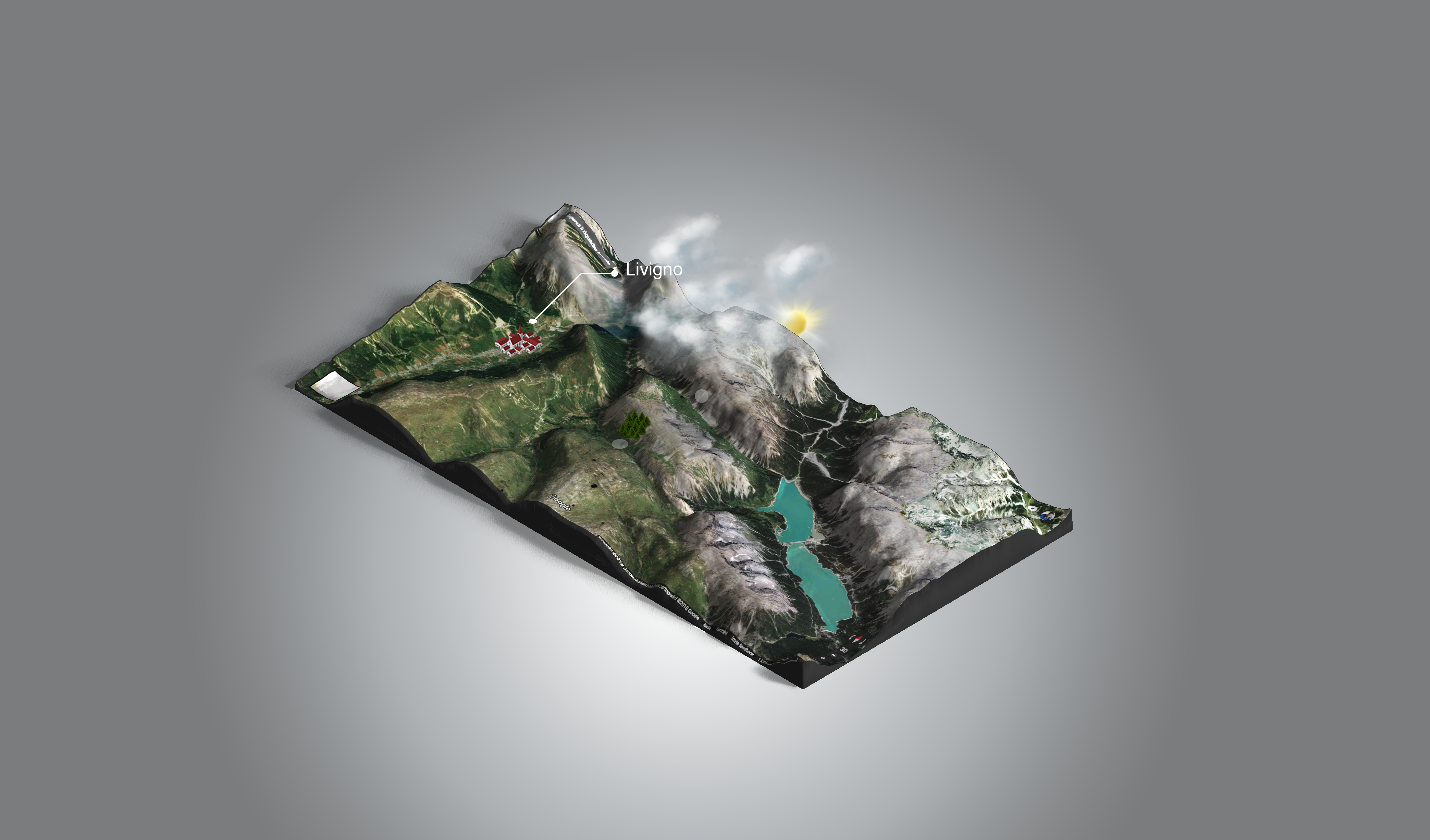 we create 3D Maps for Outdoor turism and activities