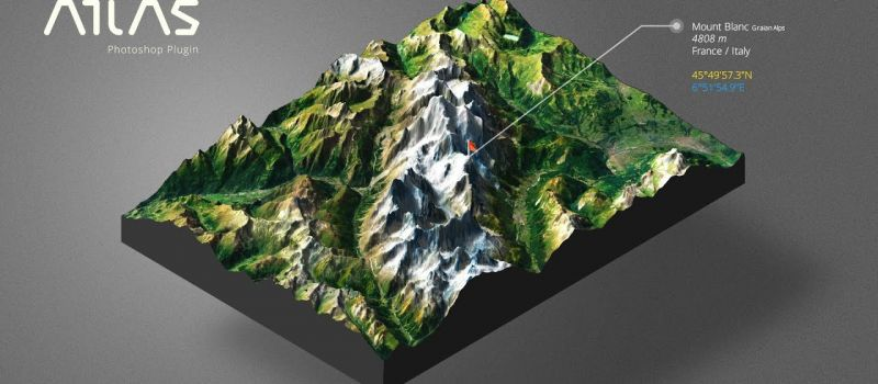 Outdoor-3D-map-turism-sport-3